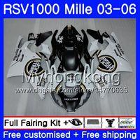 Aprilia RSV 1000R 1000 RV60 Mille Için Vücut Şanslı Grev RSV1000 R RR 03 04 05 06 316HM.22 RSV1000RR RSV1000R 2003 2004 2005 2006