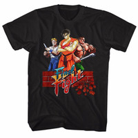 Final Fight Game Poster Capcom licencia adulto camiseta