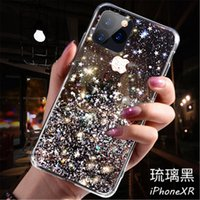 Bleing Gliter favour designer phone cases For iPhone 11 Pro XS Max XS Xr Soft Silicon Cover For iPhone 7 8 6s Plus Transparent Cases Capa