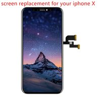 العلامة التجارية الجديدة Pantalla استبدال شاشة آيفون X LCD 3D تعمل باللمس الجمعية محول الأرقام لا الميت بكسل شاشة TFT OLED وآيفون X