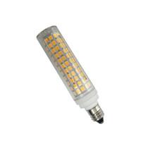E11 LED 전구 조광 7W 220V 세라믹 램프 100W 할로겐 전구 동등한 등가 E11 크리스탈 펜던트 램프