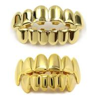 Grillades sertie de modèle de silicone vampire via bijoux en acier inoxydable