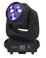 3x40W RGBW LED Beam Wash Zoom Moving Head Zoom Licht DMX Steuerung DJ Disco Licht für Bühne und Bar LLFA