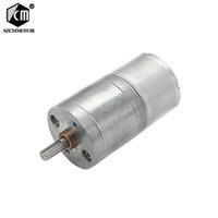 10pcs motor de micro engrenagem de 6 volts sem velocidade de carga: 8 10 17 23 39 50 85 110 180 400 900 rpm desacelerador do motor JGA25-310 mini motor pt