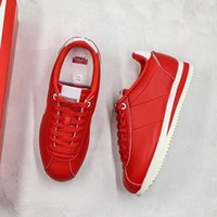 2019 Stranger Things X Classic Cortez QS ST Vintage Chaussures Blanc Rouge Styliste Confortable Chaussures Casual l1