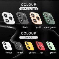 كاميرا الإصدار 2 ينطبق على اي فون X XS MAX XR التغيير الثانية عدسة لفون برو 11 ماكس عدسة لاصقة التعديل غطاء ألمنيوم القضية مرة أخرى