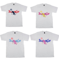 4 Стили Мужские футболки High Street FLA Joy х PIAN Сико Женская футболка Иан Коннор ретро с коротким рукавом дряблая Повседневная одежда