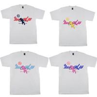 4 Styles Mens T Shirt High Street FLA Joy Pian Sicko Kadın tişört Ian Connor Retro Kısa Kollu Gevşek Casual Giyim x