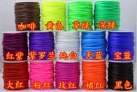 50 м / рулон полые резиновые трубки шнур для покрытия провода меняет цвета ювелирные изделия ожерелье браслет делая бесплатная доставка 14 цветов 2 мм