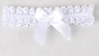 Ücretsiz kargo 2019 Yeni Gelmesi Sıcak satmak beyaz Dantel Garters ilmek çiçekler Bacak yüzük Düğün Gelin Garters shuoshuo6588