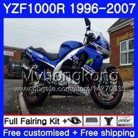 Corpo per YAMAHA Thunderace fabbrica blu YZF1000R 96 97 98 99 00 01 238HM.16 YZF-1000R YZF 1000R 1996 1997 1998 1999 2000 2001 Kit carenature