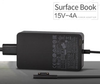 50PCS 65W Surface Book Адаптер питания 15V 4A Поверхность переменного тока зарядное устройство Зарядное устройство для ноутбука 1706 Черный