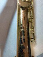Yanagisawa W020 سوبرانو ساكسفون الآلات الموسيقية ب شقة النحاس الذهب ورنيش سيكس مع الملحقات حالة لسان حال