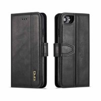 2 en 1 Luxury Thin Flip PU de cuero para el iPhone 7 8 Business Wallet Ranuras para tarjetas Cubierta de Shell para iPhone Xs Xx X 7plus 8 Plus
