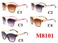 Sonnenbrille der Frauen heiße Marken-Designer-Fahren Sonnenbrille Frauen-Weinlese Anti-UV-Treiber Schwarz Goggles Brillen Gafas de sol 10PCS 8101 schnelles Schiff