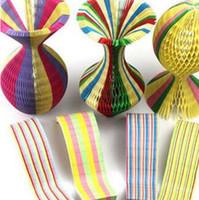 Plus épais Mode chapeaux d'été Vase Magique Chapeaux De Papier Chapeau À La Main Pliant Chapeau pour Décorations de Fête Funny Paper Caps Voyage Sun Chapeaux