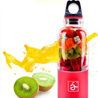 500ml Portable Coupe-Presse-Agrumes Mini USB Rechargeable Juicer Blender Maker Shaker Presse-agrumes Fruit Orange Juice Extractor Mixer Bouteille