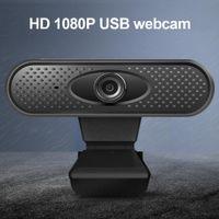 Full HD Webcam-eingebaute Mikrofon Smart 1080P Web-Kamera USB-Streaming-Kamera für Desktop-Laptops-PC-Spiel-Cam