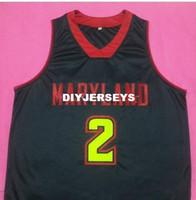 bf328182d 2019 Melo Trimble  2 Maryland Terrapins College Retro Basketball ...