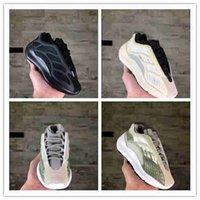 Babykinder 2020 Infant Infant 700sv2v3 Kinder Laufschuhe Jungen Mädchen Kanye Runners Kleinkind Static Trägheit Mauve Trainer Lifestyle-Sneaker