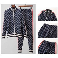 2019 Italy men jacket sportsuits Spring Autumn Tracksuit Men...