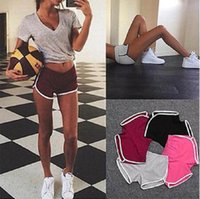 Short Deportivo Mujer Women Yoga Shorts Summer Striped Athle...