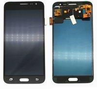 Samsung Galaxy J3 DE 2016 J320 J320F J320H telefon LCD Ekran Dokunmatik Ekran Sayısallaştırıcı Meclisi ile Parlaklık Ayarlama İçin