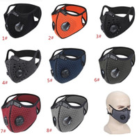 Cycling Half Face Mask PM2. 5 Carbon Filter Two Exhale Valves...