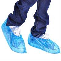 500Pcs Plastik Su geçirmez tek kullanımlık Ayakkabı Kapaklar Yağmur Gün Halı Zemin Koruyucu Mavi Temizleme Ayakkabı Kapak galoş Home için