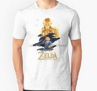 T-shirt da uomo Tshirt Tshirt Zelda respiro della selvatica principessa silenziosa T-shirt da donna T-shirt T-shirt T-shirt Top