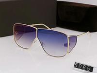 럭셔리 맨 Qualtiy 새로운 패션 5065 톰 선글라스 남자 여자 에리카 Eyewear 포드 디자이너 브랜드 Sun Glasses 원래 상자 tom002