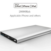 Ultra thin 20000mAH Power Bank Battery Safety USB Charger Em...