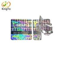 Etichetta personalizzata anti-contraffazione anti-contraffazione Etichetta per adesivi di sicurezza