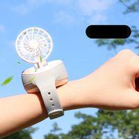 Мини часы Вентилятор портативный портативный USB зарядка портативного маленький вентилятор подарок малыши летом вентилятор охлаждения для Путешественник Home Decor GGA3435-8