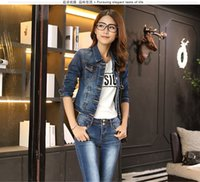 Fall 2009 Jeans Jacket Female Autumn Clothes New Korean Edit...