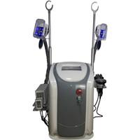 تجميد الدهون Cryolipolysis آلة 8 منصات lipolaser العلاج بالتبريد ليبو آلة الجمال الليزر بالموجات فوق الصوتية التجويف RF التخسيس