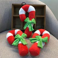 Creaticve домашние животные собачий писк игрушка Рождество костыль формы плюшевые игрушки для кошек Зоотовары для внутреннего 4 25xy E1