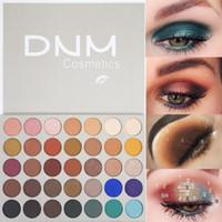 DNM العلامة التجارية 35 الألوان الجمال المزجج لوحة ظلال العيون الملونة بريق لامع تمييز المكياج صبغات ماتي ظلال العيون
