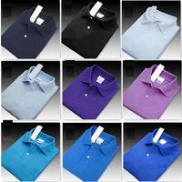 Sıcak Satış Yeni Polo Shirt Erkekler Polos Yüksek Kalite Timsah Nakış marka Büyük Beden S-6XL Kısa Kollu Yaz Casual Pamuk Polo Gömlek Erkek