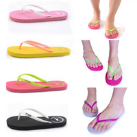 Summer Pools Love Pink Flip Flops Beach Pools Slippers Shoes...