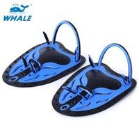 الحوت 1 زوج الرجال النساء قابل للتعديل سباحة الزعانف السباحة المجاذيف بركة غطس قفازات النيوبرين اليد