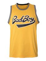 السفينة من الولايات المتحدة biggie الصغيرة # 72 bad boy سيئة السمعة فيلم كبير الرجال كرة السلة جيرسي جميع خياطة S-3XL جودة عالية