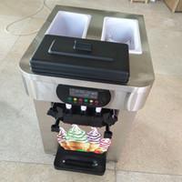 Çin'de yapılan mini yumuşak dondurma makinesi masa üstü yumuşak hizmet dondurma makinesi ile yüksek kalite