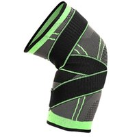 Elastic Knee Support Brace Protector Breathable Sport Tennis...