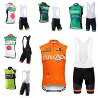 08b9d03c4 New Arrival. EUROPCRA Euskadi team Cycling Sleeveless jersey Vest (bib)shorts  sets Mountain Bike MTB Jersey Breathable Quick Dry Clothes 21915F