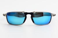 Di alta qualità in lega di O6020 Rovo occhiali da sole polarizzati per gli uomini sportivo-movente di riciclaggio occhiali da pesca
