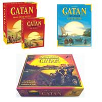 CATAN Brettspiel Familienspaß Spielen Eltern-Kind-Interaktion Strategie-Spielkarte Englischer Tisch Partyangebot Brettspielspielzeug