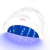 Sèche-ongles Sunone 24 / 48w professionnel uv / led gel de durcissement vide polonais ongles acrylique led lampe lampe uv pour les ongles 48w T190712