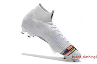 2019 Кубок Слово бутсы Mercurial Superfly Mens VI 360 Elite Неймар FG футбольные бутсы High голеностопного LVL UP SuperflyX Ronaldo CR7 Бутсы