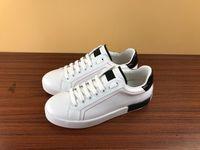 Модельер Высочайшее качество Повседневная печатная портофин патч вышивка Обувь кожаная резиновая подошва кроссовки для мужчин и женщин размер 34-45
